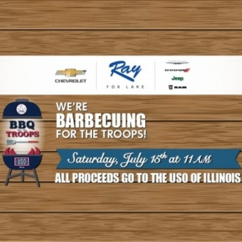Ray Auto Group USO BBQ for the Troops