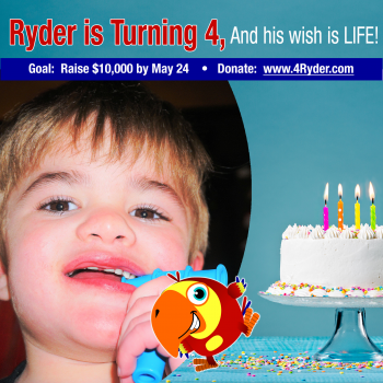 4 Ryder: Happy 4th Birthday