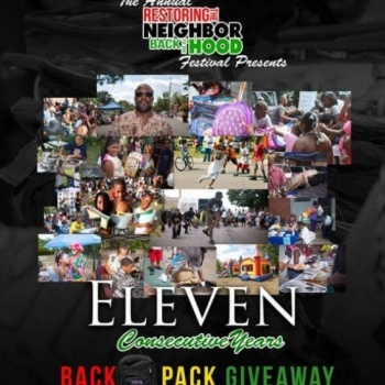 11th Annual Backpack Giveaway: Neighborhood Festival