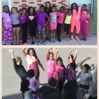 Lyons Mill ES Girls Running Club