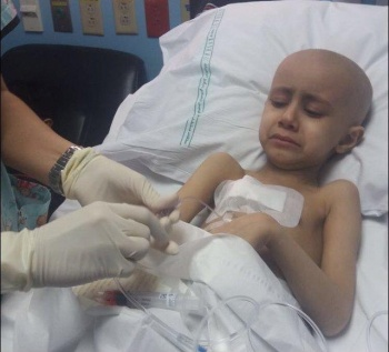 Sarah from Gaza ! in her battle to fight Leukemia