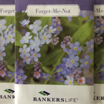 Bankers Life Forget Me Not Days BSO #1099 Image