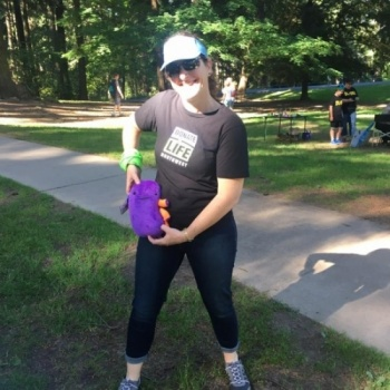 Laura Ellsworth - Strut Your Kidney, a dash for NW Kidney Kids