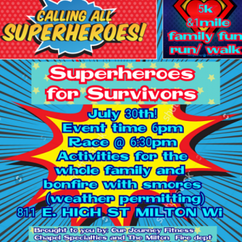 Superheroes for Survivors