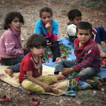 RELIEF FOR THE SYRIAN CHILDREN  救济叙利亚儿童