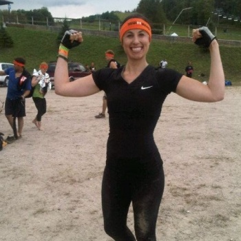 Karen's getting muddy for the Canadian  Breast Cancer Foundation- 2017 Tough Mudder Toronto