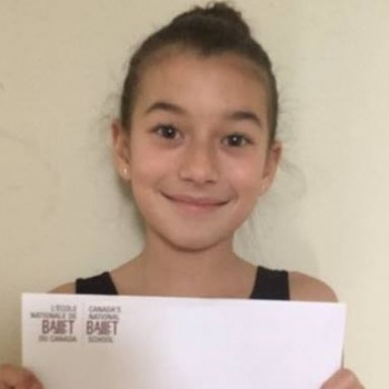 Send Lola to Canada's National Ballet School  Image
