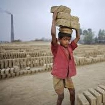 Education  and good food for poor Kiln Children Image