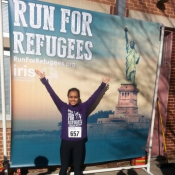 Victoria's Run for Refugees