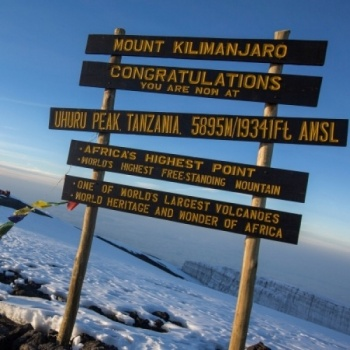 Hiking Kilimanjaro to Support Refugees & Famine Victims