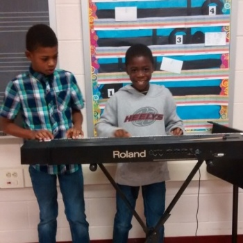 Technology in the Music Classroom at Edgewood Elementary School