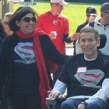 Super Steve  ALS  Walk. Steve and Debbie Hix Team