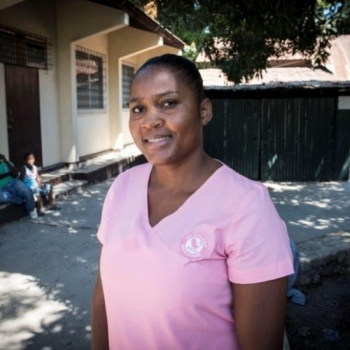Support Midwives for Haiti New Triage Midwife, Mackensia Fontaine