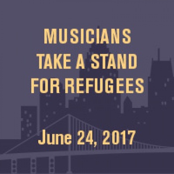 Musicians Take a Stand For Refugees (IRC)