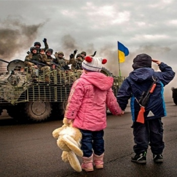Helping people who suffered in the war in Ukraine.
