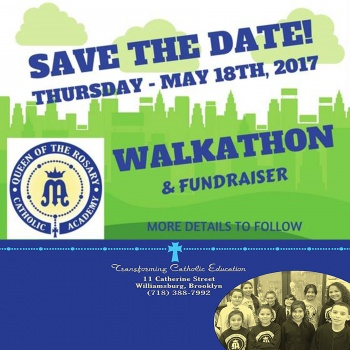 Queen of the Rosary Catholic Academy 2017 Walk-a-thon