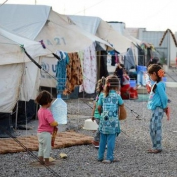 Medical care for refugees in Iraq