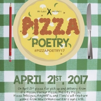 Put Your Money Where Your Mouth Is - Big Class Pizza Poetry Night!