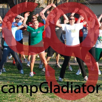 Camp Gladiator DFW Central PUSH for REBOOT