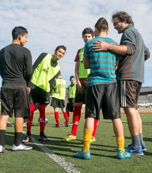 CSU East Bay Black - Soccer Without Borders Small Goals Big Change