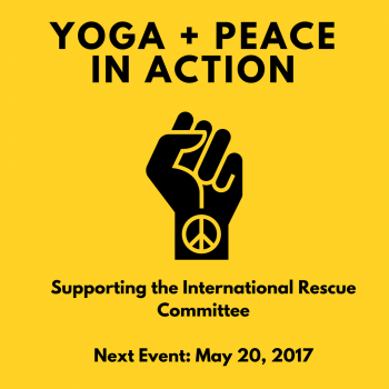 Refugees are Welcome Here: Yoga + Peace in Action May Campaign