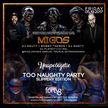 Migos Live @ Stage 48 (partial proceeds given to charity)