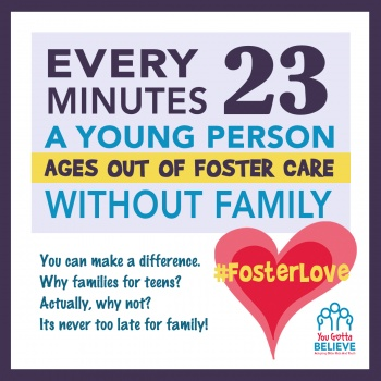 Help Me #FosterLove for Foster Youth!!!