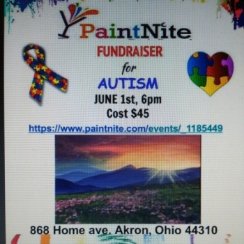 INPEL's Paint Nite Fundraiser for Autism