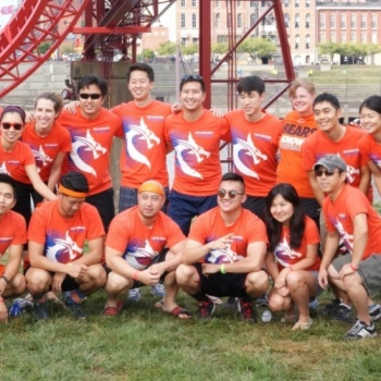 TAP-Chicago Supporting Chinese Mutual Aid Association in the Uptown 5K