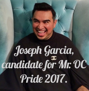 Joseph Garcia for Mr. OC Pride 2017