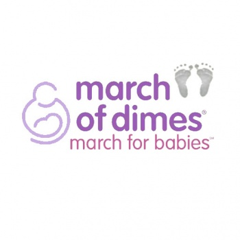 March of Dimes Birthday donation