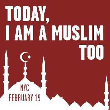 TODAY, I AM A MUSLIM TOO RALLY!