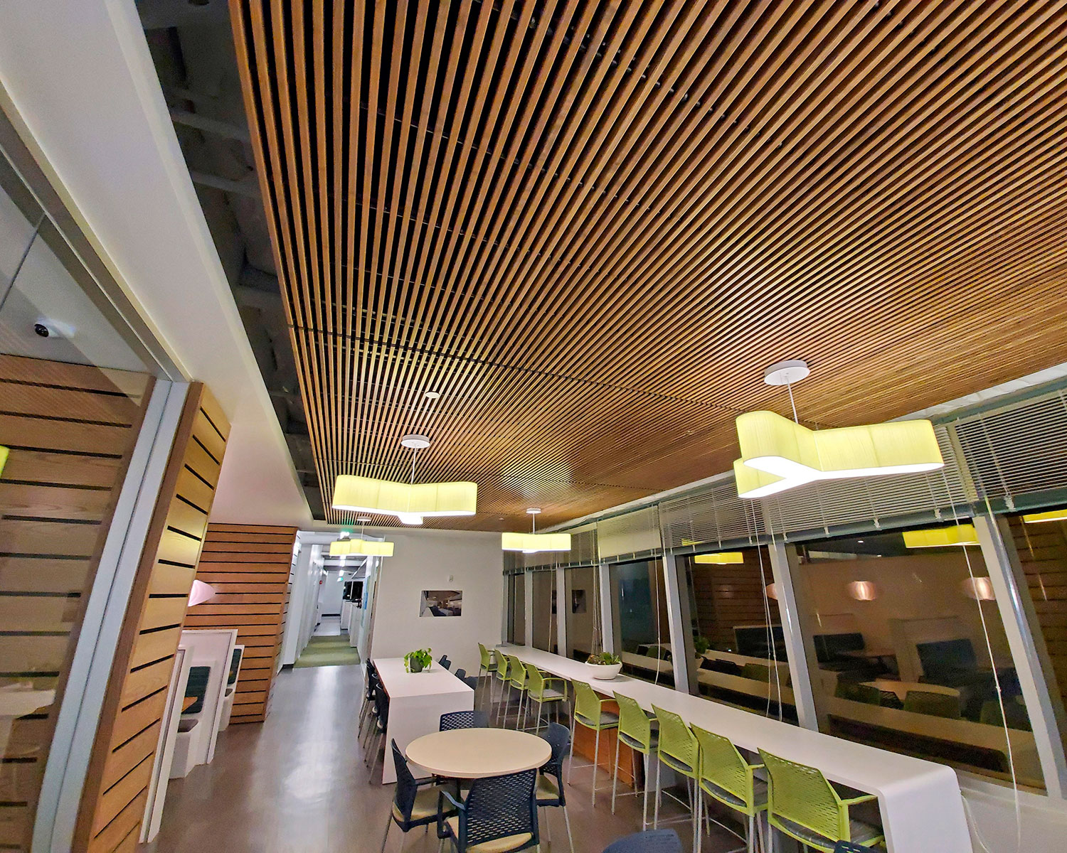 Ceiling Walls Wood W Lime Chairs