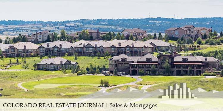 Colorado Real Estate Journal Sales and Mortgages