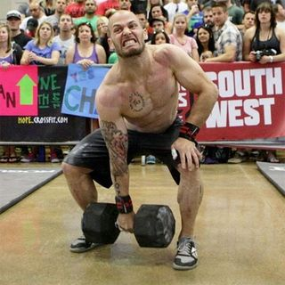 Chris-Spealler-100-Pound-Dumbell-Snatch-South-West-Regionals