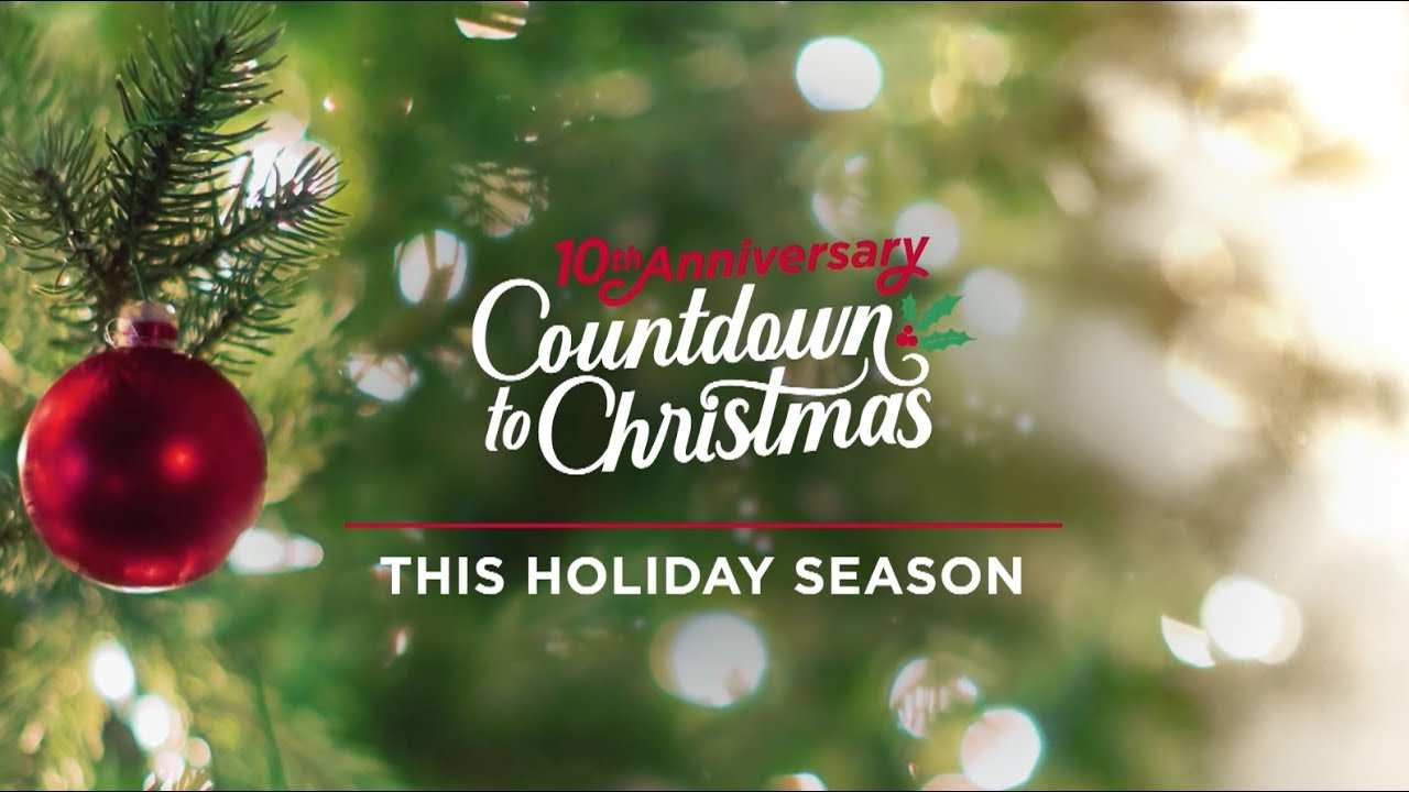 Countdown To Christmas.Hallmark Channel News 40 New Movies Complete Hallmark