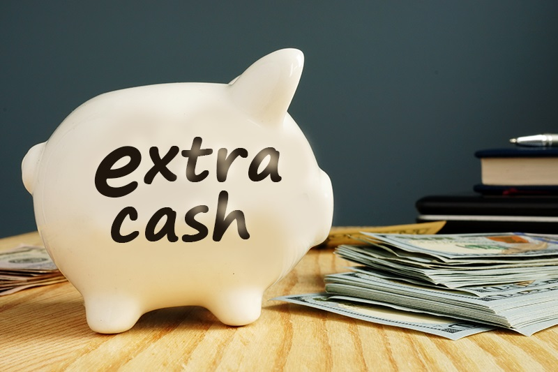 Five Step-by-Step Ways to Bank Extra Cash