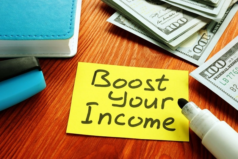 Five Ways to Boost Your Income This Year