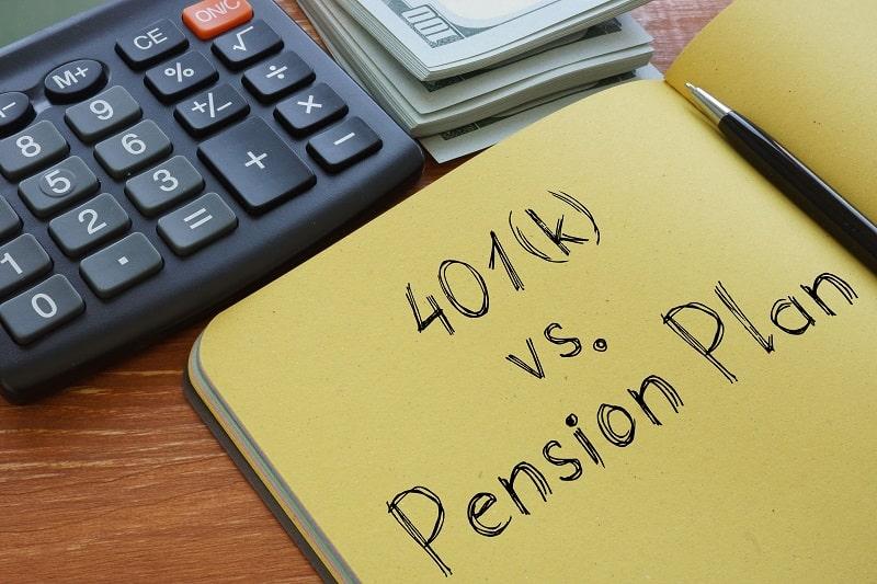 Pensions vs. 401ks