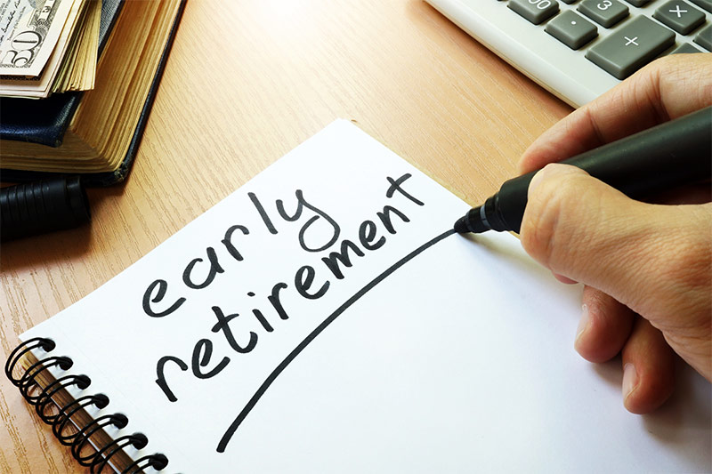Four Steps to Take If You Want to Retire Early