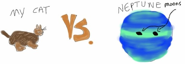 cat vs. neptune