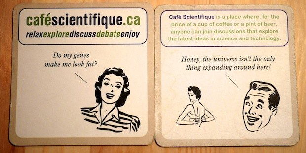 Science themed coaster set 2