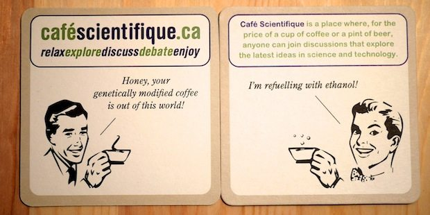 Science themed coaster set 3
