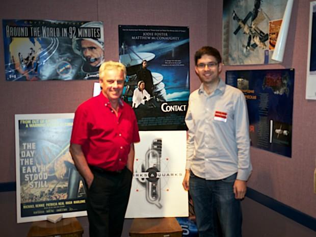 Krister& Bob McDonald of Quirks and Quarks
