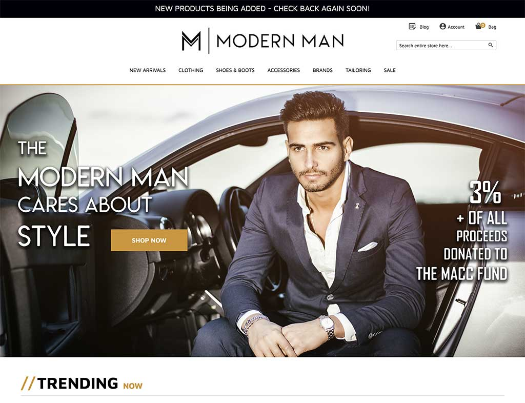 Modern Man (screenshot)