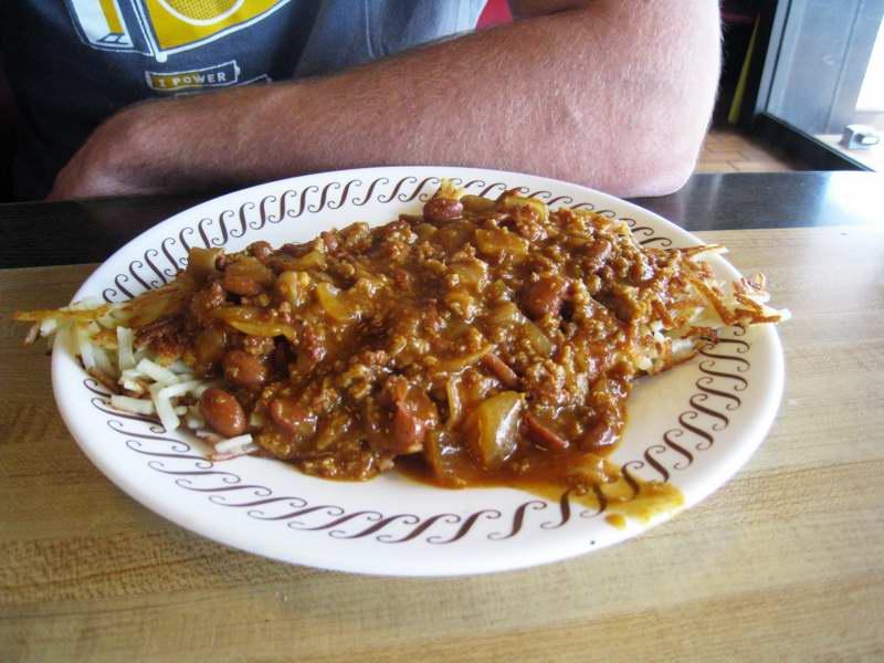 Chili Hashbrown Dish