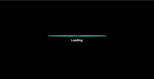 CSS-only loading screen