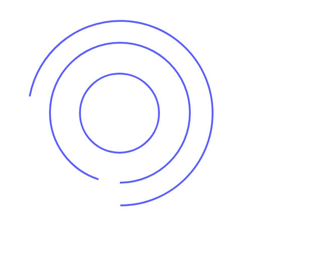 SVG loading circles