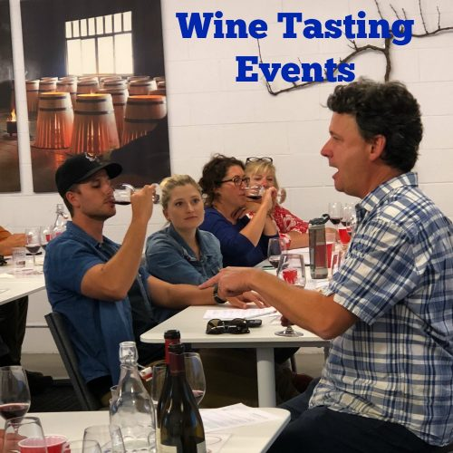 Wine Tasting Events Call Out