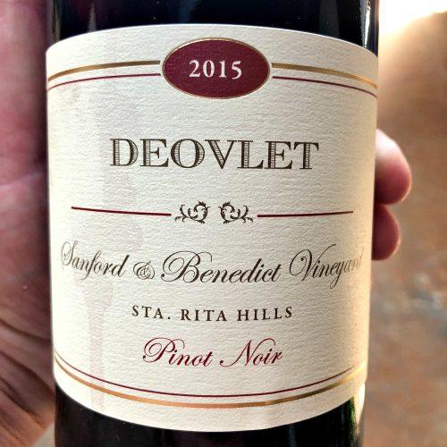 Deovlet Pinot Noir Sanford Benedict